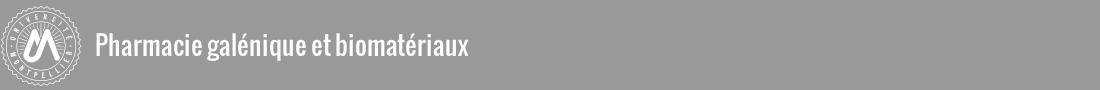 Pharmacie galénique et biomatériaux Logo